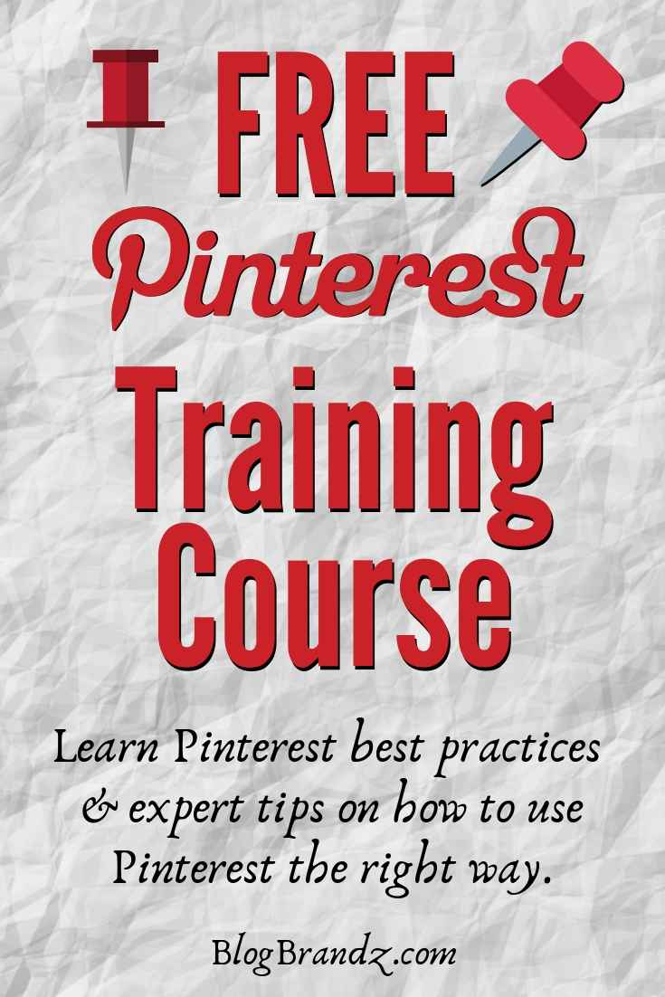 Free Pinterest Training Course For Bloggers