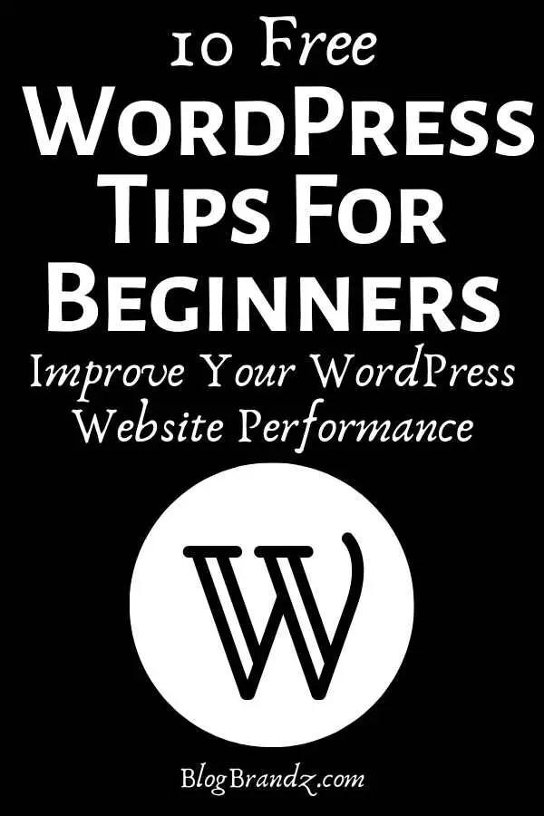 free wordpress tips