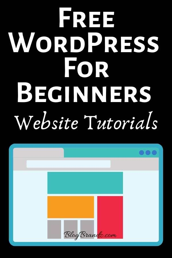 WordPress For Beginners Website Tutorials