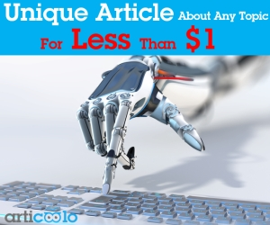 Try Articoolo Free