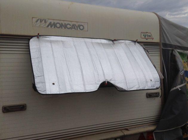 Toldillas caseras para tu caravana