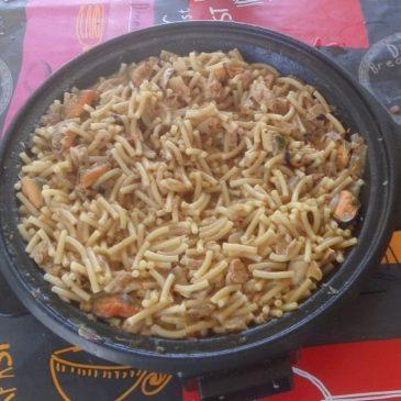 Cocinar en el camping: Fideguá Campista.