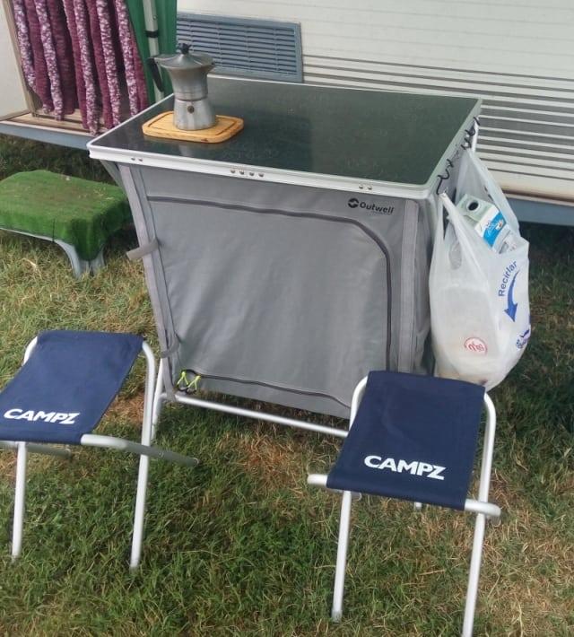 Mesa de Cocina plegable para camping CAMPZ