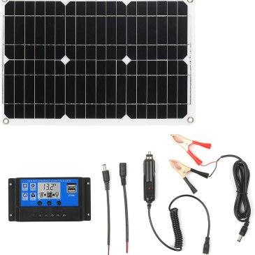 Energía solar en la furgo low cost