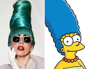 Lady Gaga, Marge Simpson