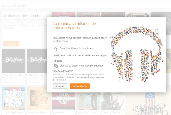 Google Play Music All Access mexico