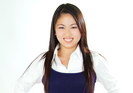 Rising star: Diane Keng has already started three businesses in her young entrepreneurial career.