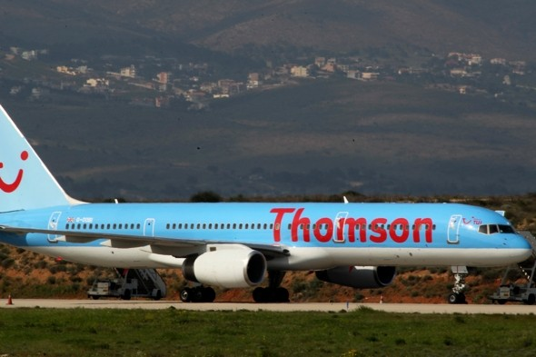 Plane makes emergency landing after cabin crew hears British couple 'argue about drugs'