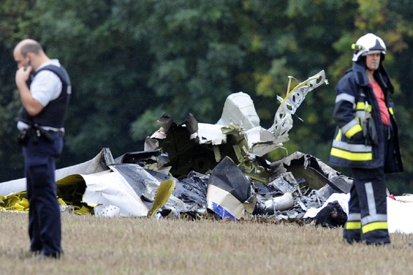 Ten parachutists killed in Belgium plane crash