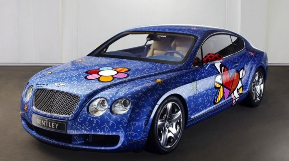 Bentley Continental GT by Romero Britto