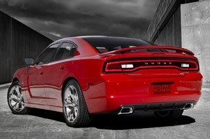 2011 Dodge Charger, rear view