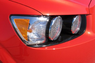2012 Chevrolet Sonic headlight