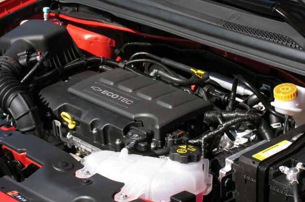 2012 Chevrolet Sonic engine