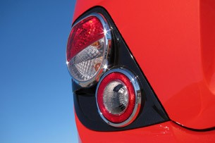 2012 Chevrolet Sonic taillight