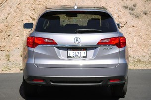 2013 Acura RDX rear view