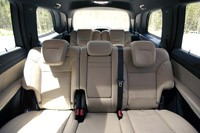 2013 Mercedes-Benz GL450 rear seats