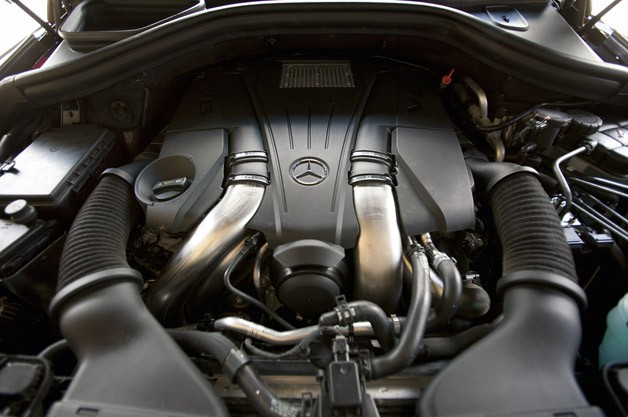 2013 Mercedes-Benz GL450 engine