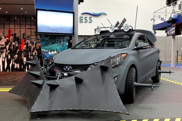 the special Hyundai Elantra, designed by Robert Kirkman