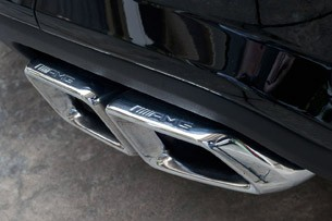 2012 Mercedes-Benz CLS63 AMG exhaust tips