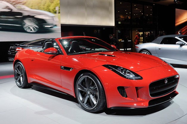 First new Sportscar from Jaguar in 50 year:  F4-Type  in LA