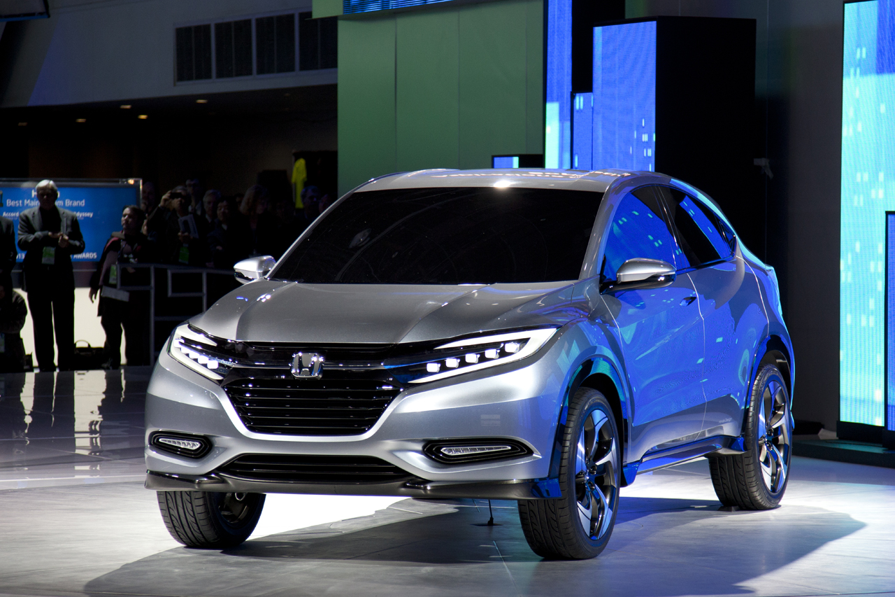 Honda Urban SUV Concept Previews Fit Based Crossover