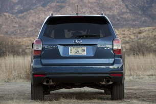 2014 Subaru Forester XT rear view