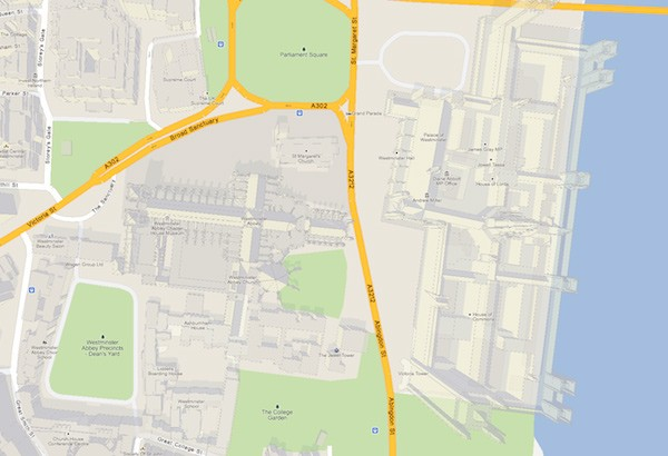 Google MapsGL update adds parallax perspective, improves virtual tourism