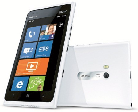 Nokia's White Lumia 900 reportedly available now at AT&T stores