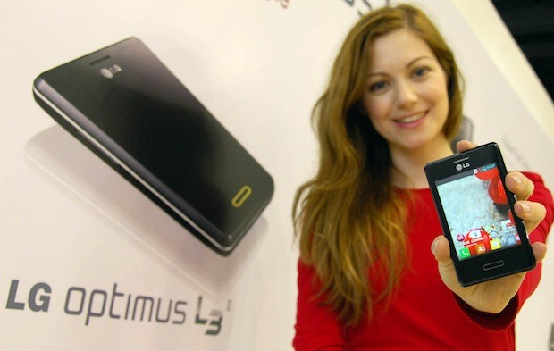 LG reveals Optimus L3II worldwide rollout starts this week in Brazil