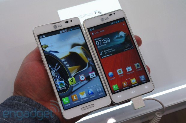 LG Optimus F7 and F5 handson midrange devices for first time LTE users video