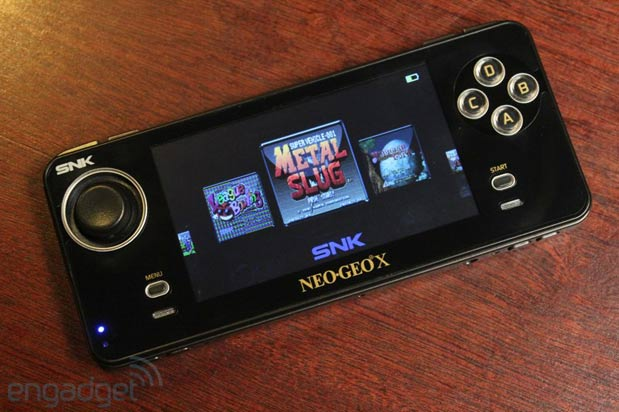 Neo Geo X additional game cart, system update, travel case and 'Rocket' cable slated for April launch