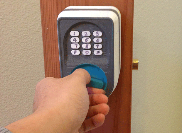 Insert Coin semifinalist SmartKnob brings keypad access to your front door