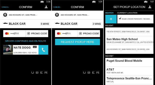 Uber lands on Windows Phone, expands its ondemand car service dominance