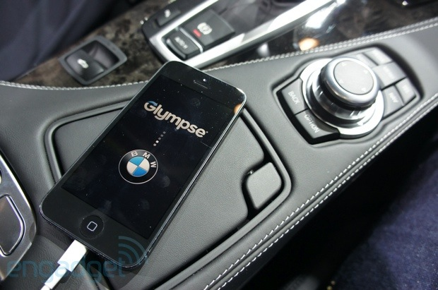 BMW announces compatibility with four new iOS apps, removable incar LTE router, we go handson