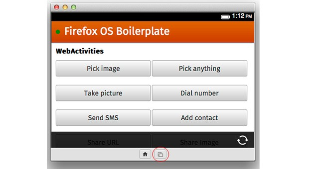 DNP Mozilla unveils Firefox OS Simulator 30 with Push to Device, rotation simulation