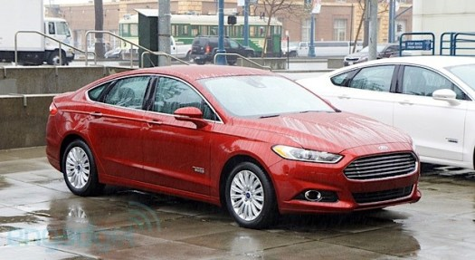 Ford Fusion Energi hands-on