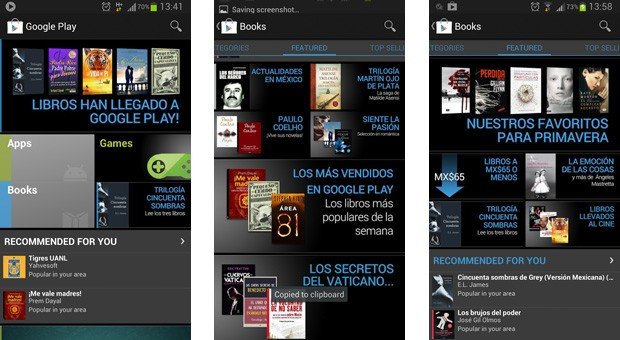 Google Play Books launches in Mexico