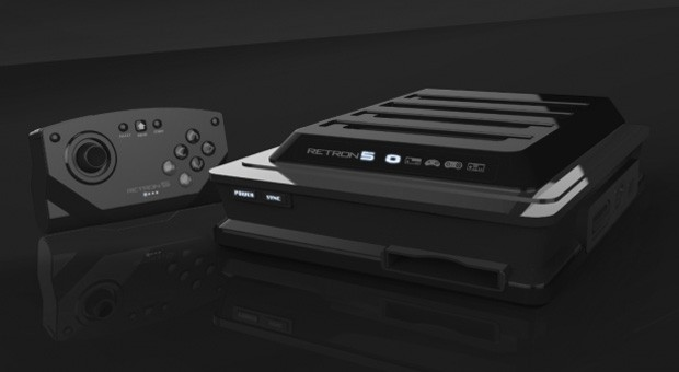 Hyperkin Retron 5 plays cartridges from nine classic consoles