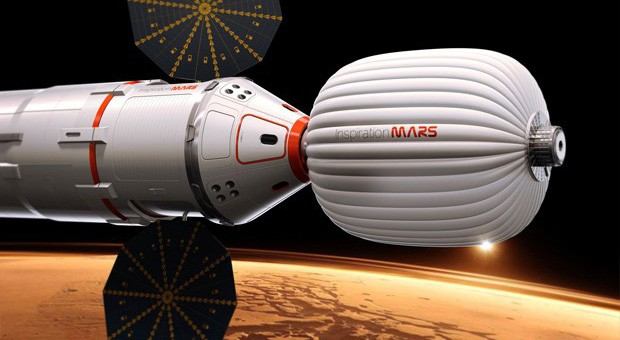 Inspiration Mars mission will use human waste for radiation shielding no really, it works