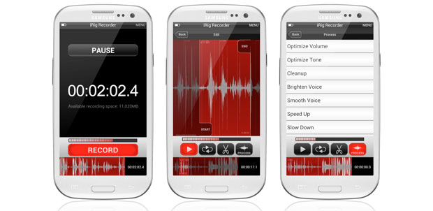 iRig Recorder arrives on Android, ready for your broadcasting, podcasting needs