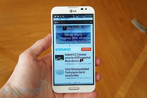 LG unveils eye recognition tech for Optimus G Pro, other features in update