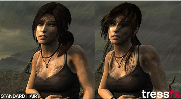 AMD brings better hair days to game characters with TressFX