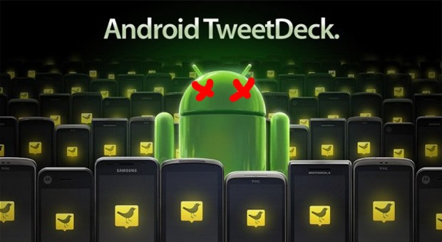 TweetDeck for Android RIP