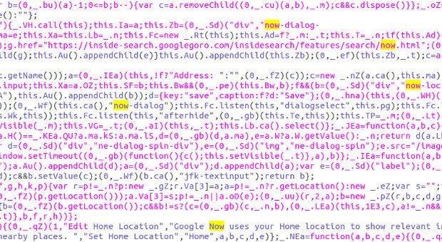 Now may land on Google's home page