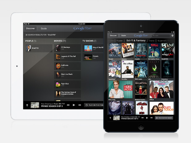 Google Fiber for iPad hits the app store