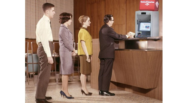 Bank of America brings live teller chat to ATMs