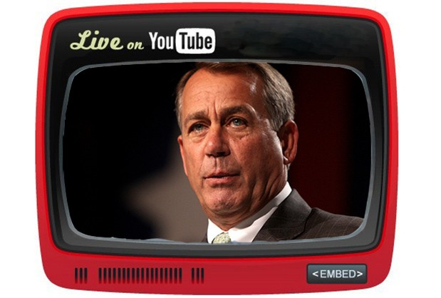 YouTube brings live streaming to Capitol Hill, whether you like it or not