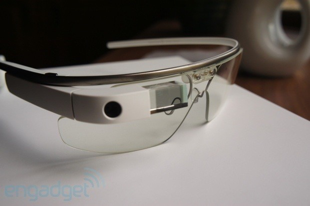 DNP Living with Google Glass, Day One the reveal