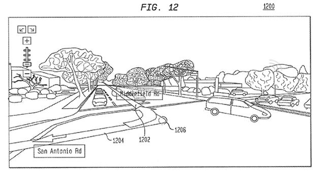 Google patent envisions Street Viewlike functionality with GPS navigation