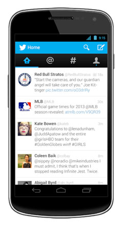 Twitter revamp brings native experience to Android, expanded Card content